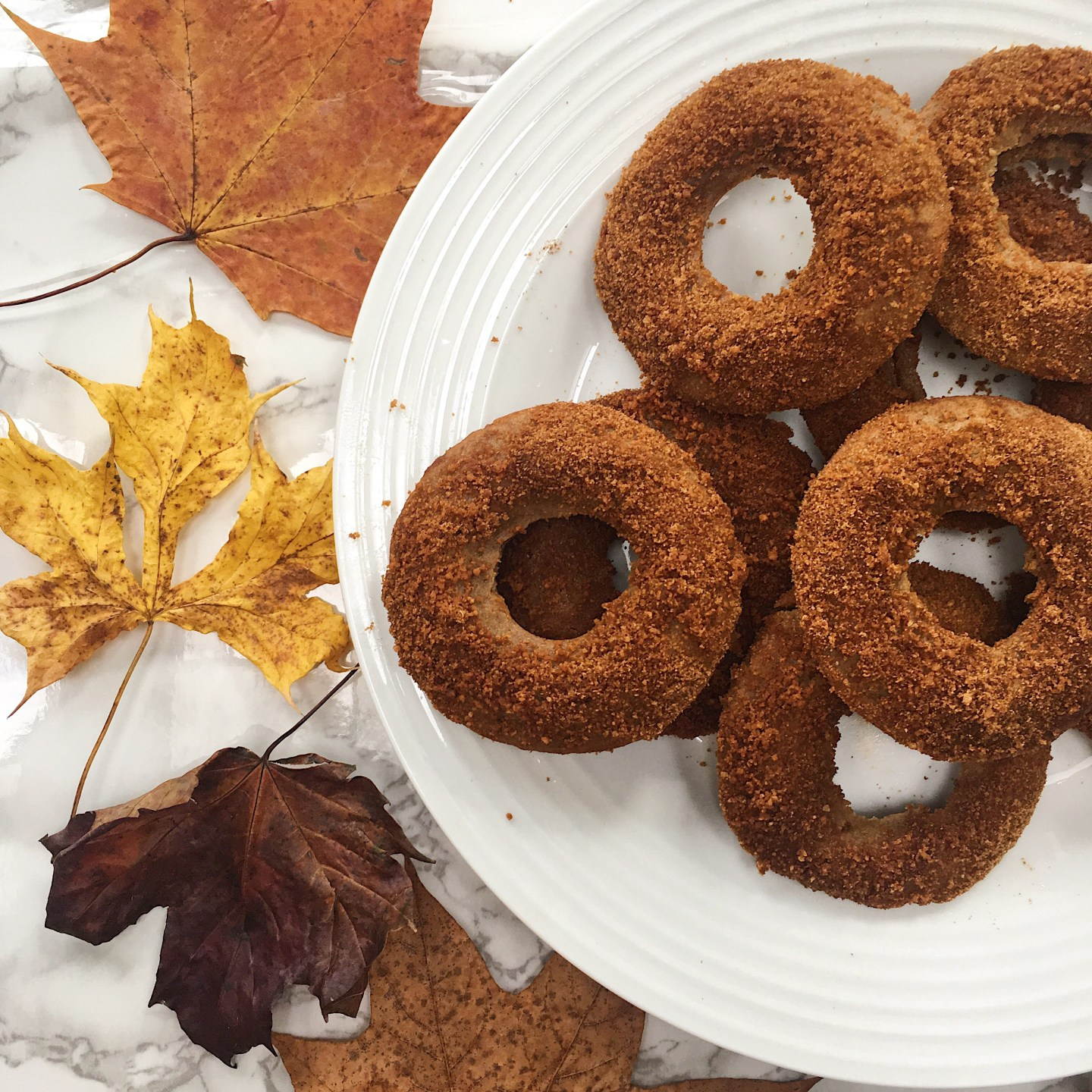 Healthy Chai Spiced Baked Doughnuts