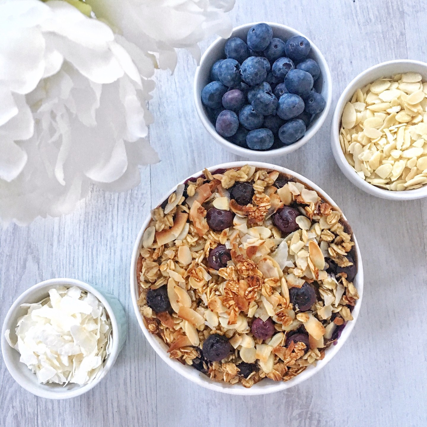 Healthy Blueberry Baked Oats Recipe