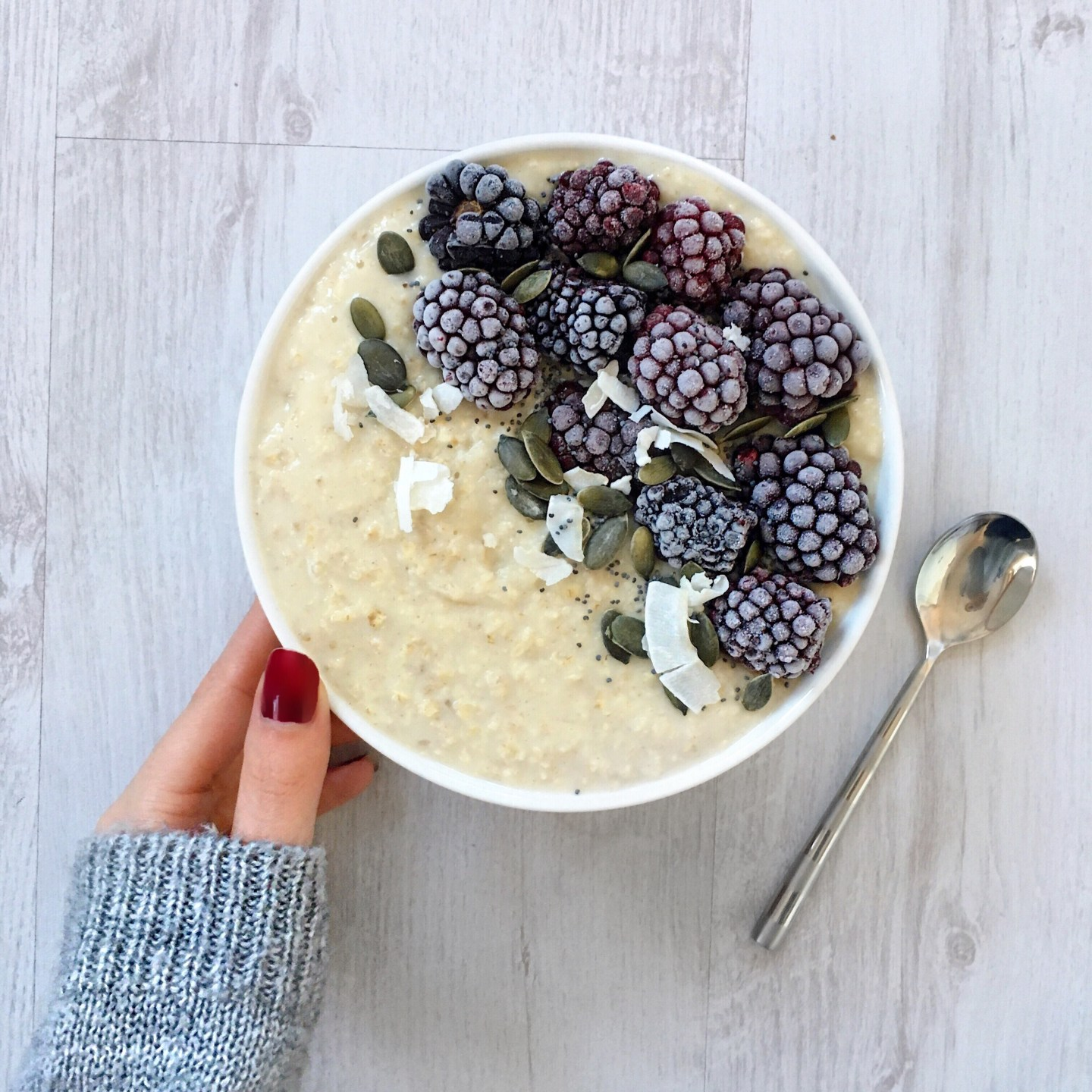 Warming and Comforting Spiced Winter Porridge