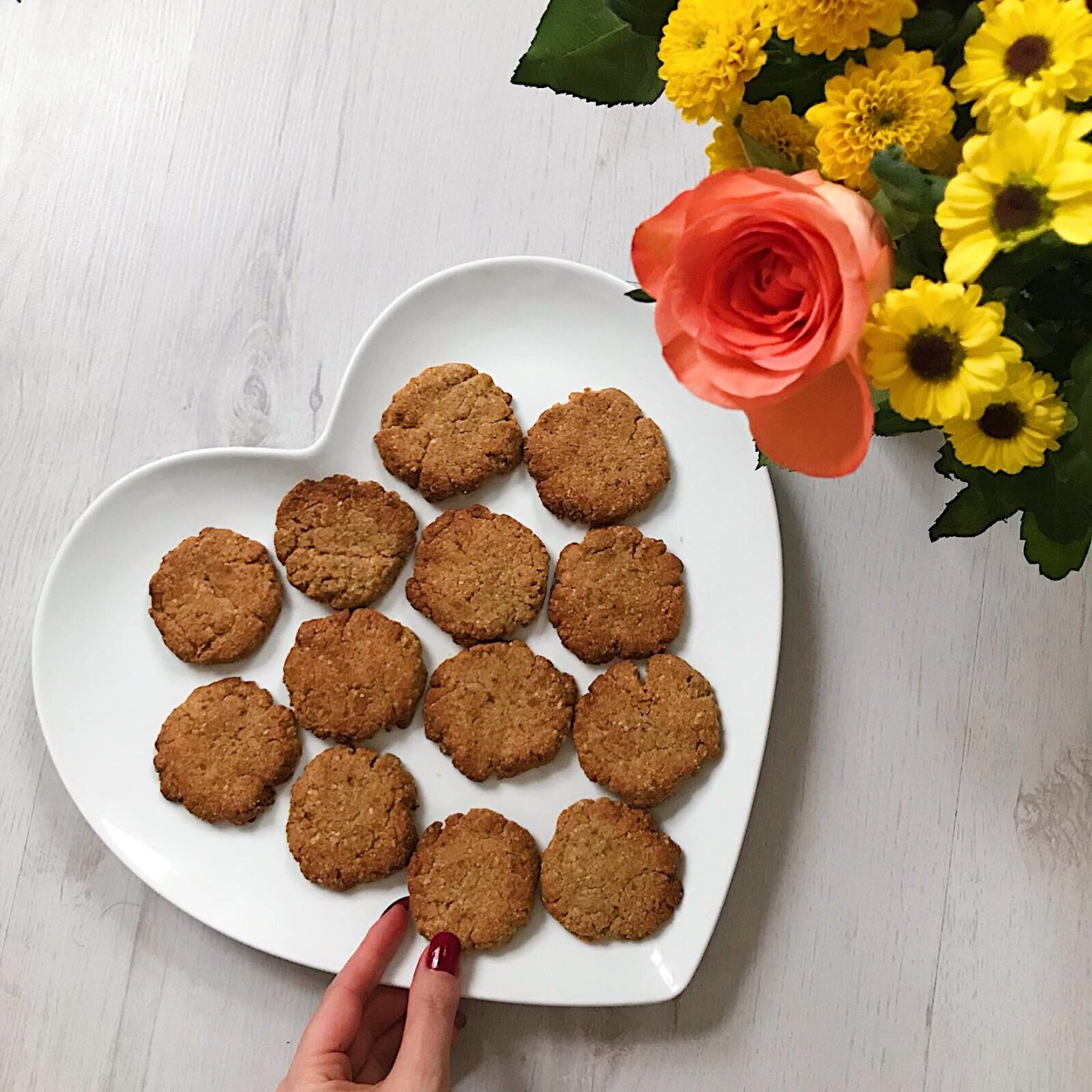 Healthy Ginger Cookies for an easy and healthy treat