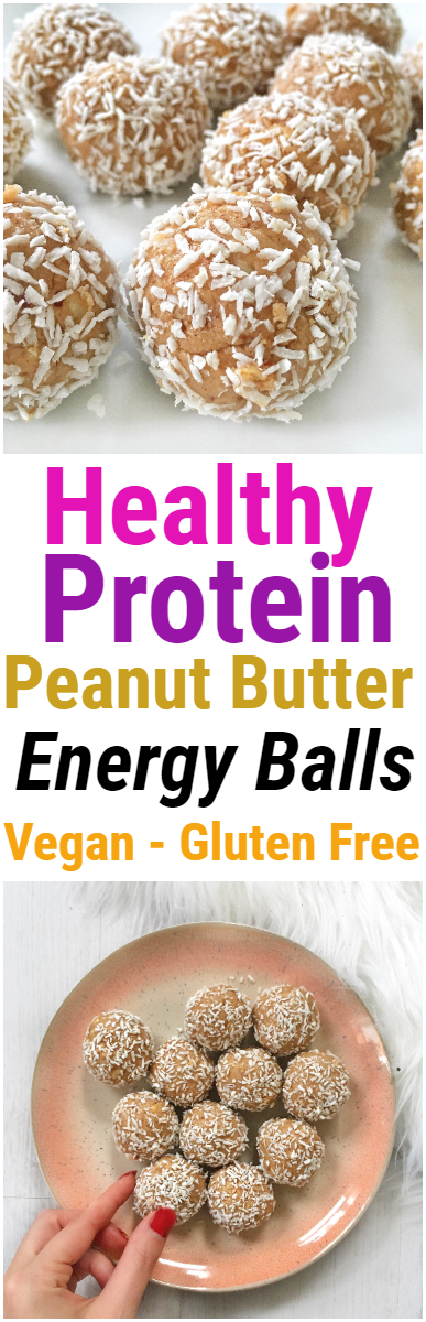 Protein Peanut Butter Energy Ball