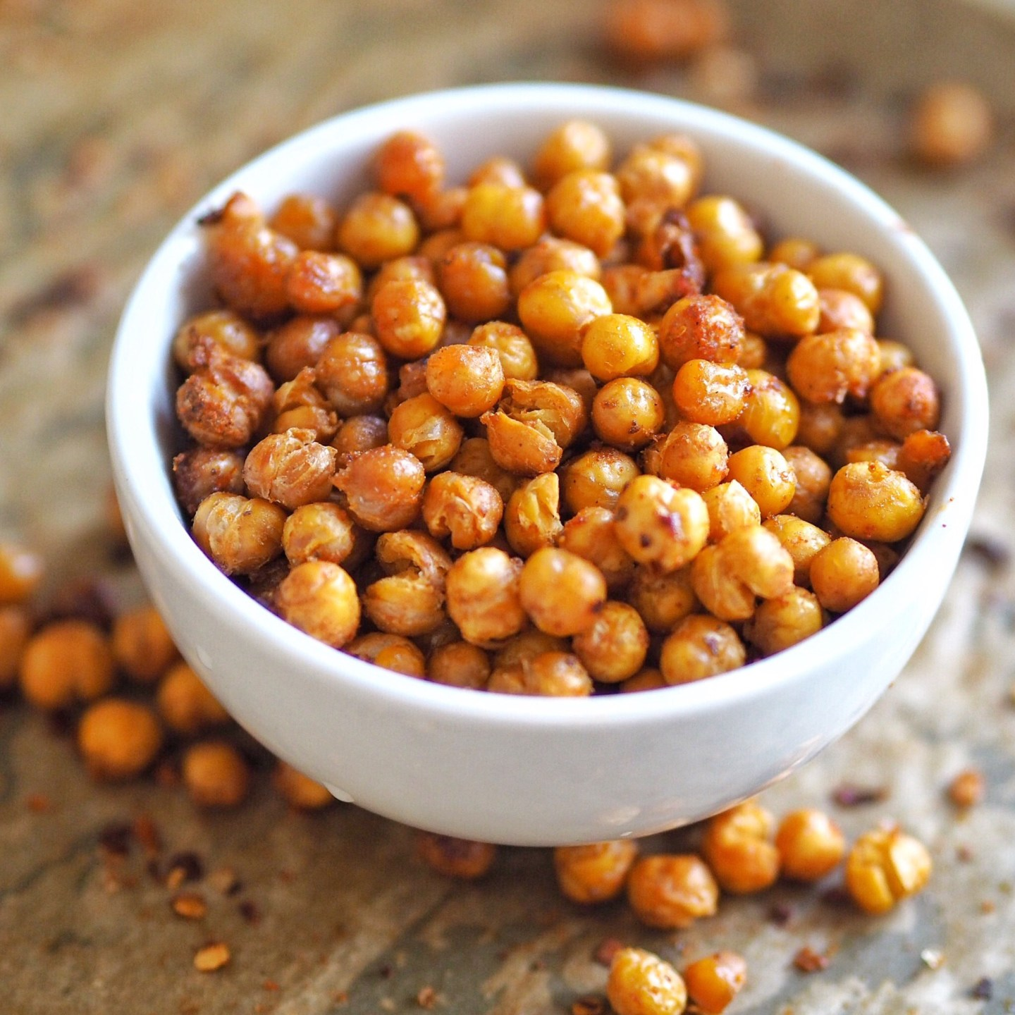 Spiced Roasted Chickpeas Recipe