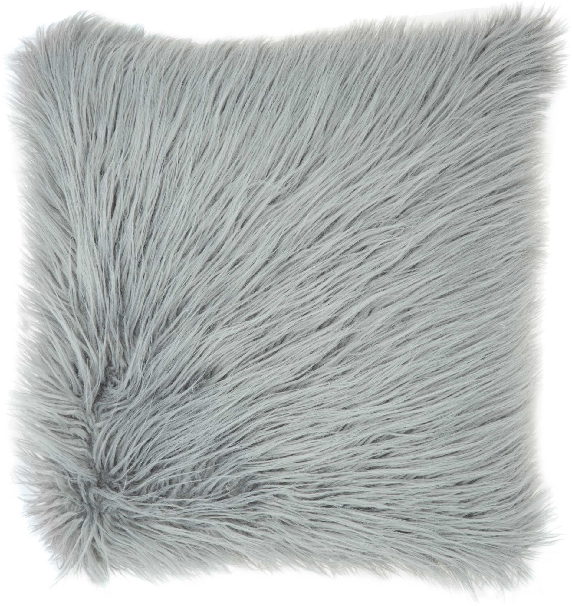 faux fur bj101 light grey 17