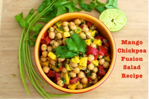 mango chickpea fusion salad_text