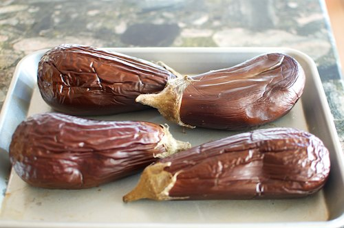 eggplant dip_baba ghanoosh 1