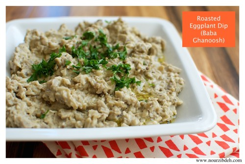 roasted eggplant dip final