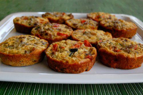 mini egg frittata or egg muffin