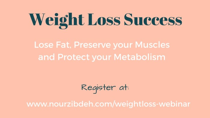 how to lose weight webinar