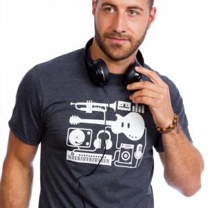 T-shirt musique plb