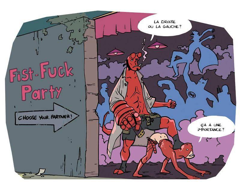 Le droit au #Fail dans le sexe - Illustration de Sticky Pants