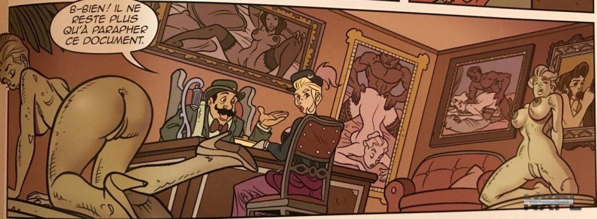 Critique de la bande dessinée Vita Oswood de Paillé et Pasini aux éditions Tabou - NXPL