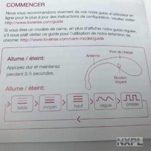 Sextoy - Test de l'oeuf vibrant connecté Lovense Lush - NXPL