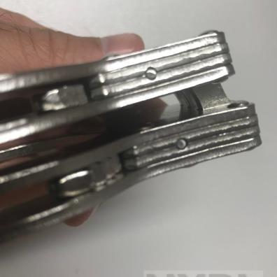 Test des menottes lourdes à charnières Rimba - NXPL