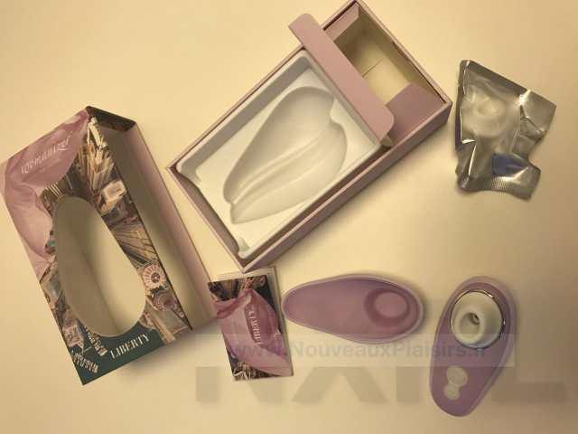 Test du Womanizer Liberty, un stimulateur clitoridien aspirant tout petit pour le voyage - NXPL