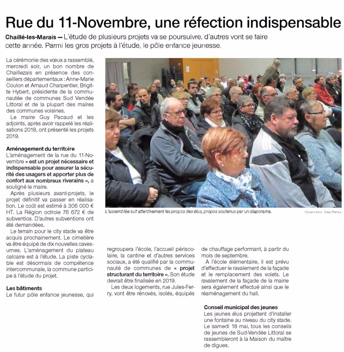 Rue du 11-Novembre, une réfection indispensable