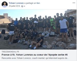 Coaching mental équipe de France