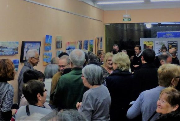 Exposició de pintura «Una amistat nascuda de l'art»