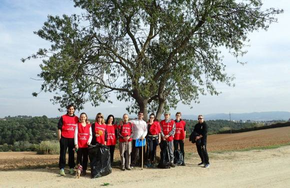 Voluntariat ecològic des de Nova Acròpolis Sabadell