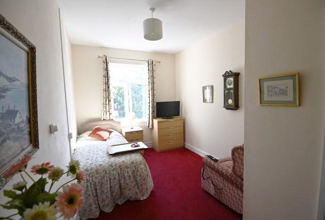 A single bedroom in Nova House