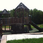 Slides and Ramps at Chessie's Big Back Yard