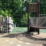 Climbing web at Chessie's Big Back Yard
