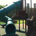 Tube slide at Chessie's Big Back Yard