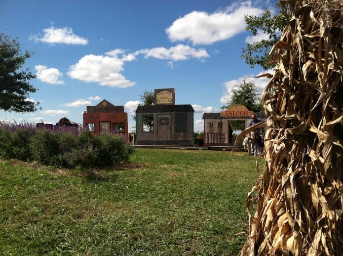 Mining town at Cox Farms Fall Festival 2012