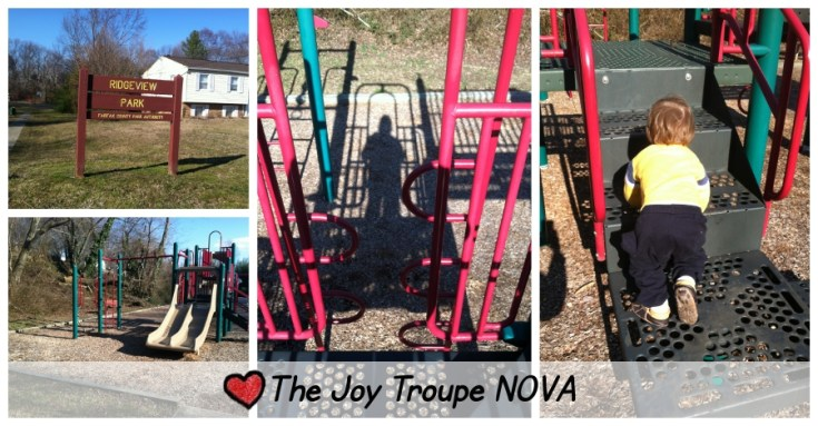 ridge view park Alexandria VA Joy Troupe NOVA