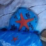 Starfish at Chessie's backyard playground