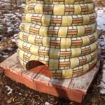 Bee Hive sculpture at Potomac Overlook Regional Park Arlington VA