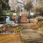 Garden and compost area Potomac Overlook Regional Park Arlington VA