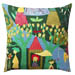 The Pleasure Garden Pillow Green