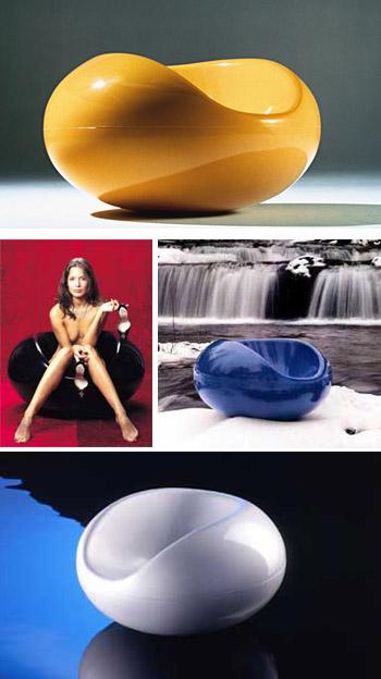 Eero Aarnio Pastilli Chair  modern design by moderndesignorg