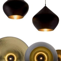 Modern Kitchen Pendant Lights Best Backsplash Beat Light Stout Large Black/copper From Tom Dixon ...
