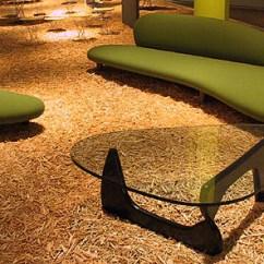 Modern Grey Sofa With Chaise Tall Feet Noguchi Freeform Sofa: Nova68.com