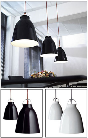 modern kitchen rugs battery powered under cabinet lighting light years design: cecilie manz caravaggio pendant ...