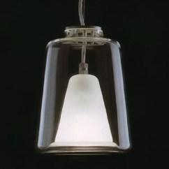 Benches For Kitchen Table Best Appliances Reviews Lanterna Large Oluce Italian Glass Pendant Lamp: Nova68.com