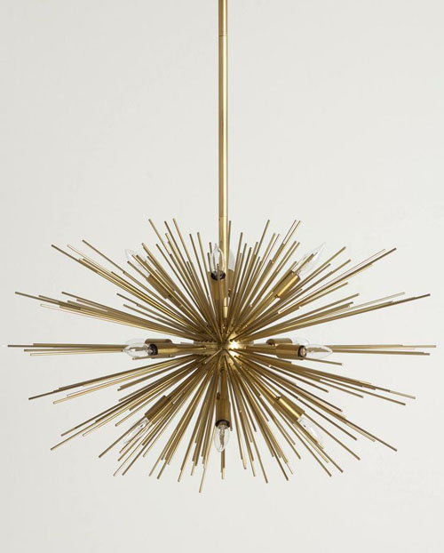 Astra Chandelier Sputnik Fillament Light Fixture NOVA68com