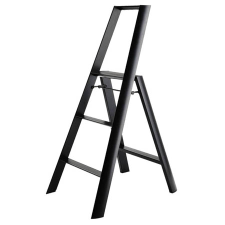 Folding Modern Step Stool Ladder in Aluminum NOVA68com