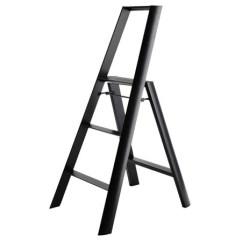 Outdoor Folding Lounge Chairs Black Accent Chair Modern Step Stool Ladder In Aluminum: Nova68.com
