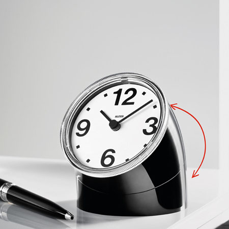 kitchen table and chairs for sale upgrades cronotime clock: alessi 'cronotime' desk clock by pio ...