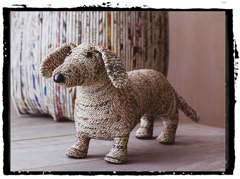 Clever the Dog Dachshund Home Decor Sculpture NOVA68com