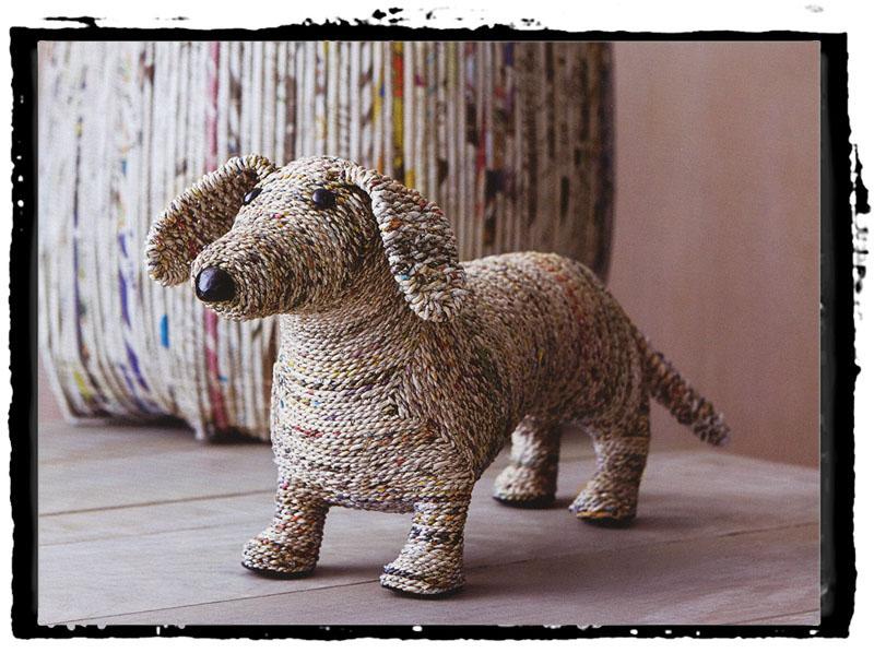 Clever the Dog Dachshund Home Decor Sculpture NOVA68com