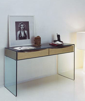 modern luxury sofa rooms to go leather and loveseat gulliver glass console table by tonelli: nova68.com