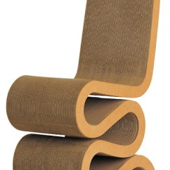 Frank Gehry Cardboard Chairs Good Office For Gaming Gehry: Original Vitra Wiggle Side Chair: Nova68.com