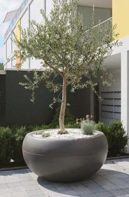 Aladin Extra Large Commericial Planter Outdoor Pots for Trees NOVA68com