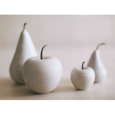 Modern Marble Fruit Collection Apple and Pear NOVA68com
