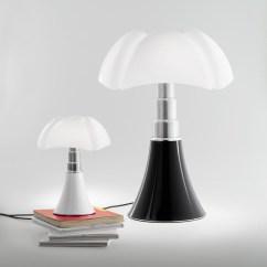 Modern White Office Chairs Patio Chair And Ottoman Martinelli Luce: Gae Aulenti Mini Pipistrello Lamp: Nova68.com