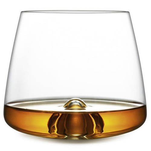 SCOTCH Modern 2 Piece Stemless Whiskey Glass Set