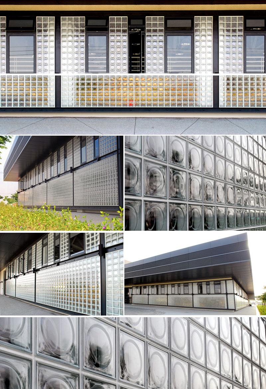 Pierre Chareau Maison De Verre Style Glass Blocks 10